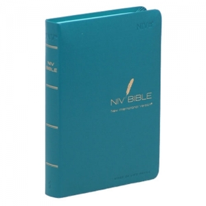 NIV BIBLE-특소(Small/Blue-green/무지퍼)
