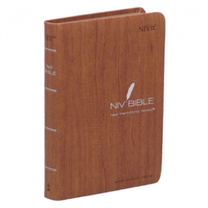 NIV BIBLE-특소(Small/Brown/무지퍼)