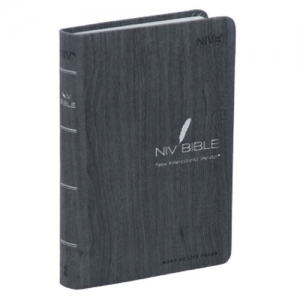 NIV BIBLE-특소(Small/Dark Gray/무지퍼)
